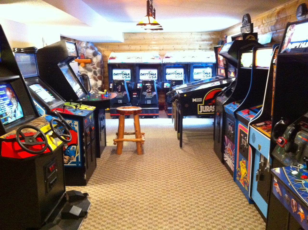 Gameroom Showcase Holcomb 39 S Basement Arcade Gameroom