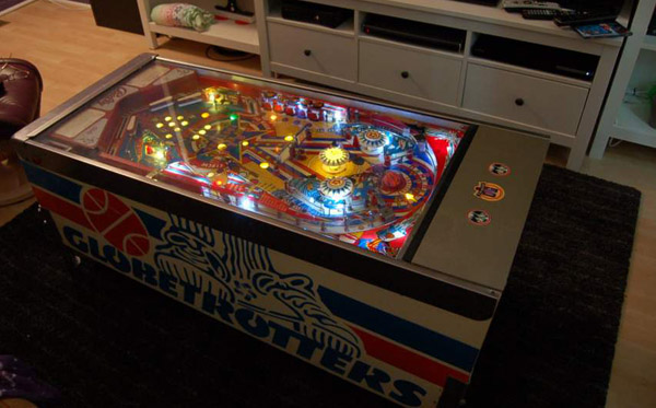 Pinball Machine Coffee Table Gameroom Junkies