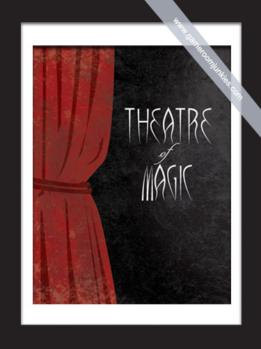 Minimalist Pinball Poster for the game Theatre of Magic