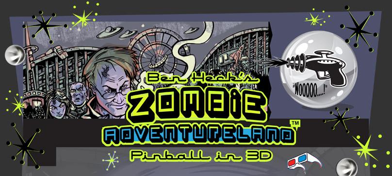 Ben Heck's Zombie Adventureland Pinball Machine