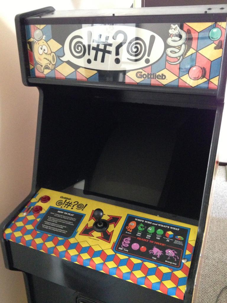 Rare Q*bert Prototype Arcade Discovered
