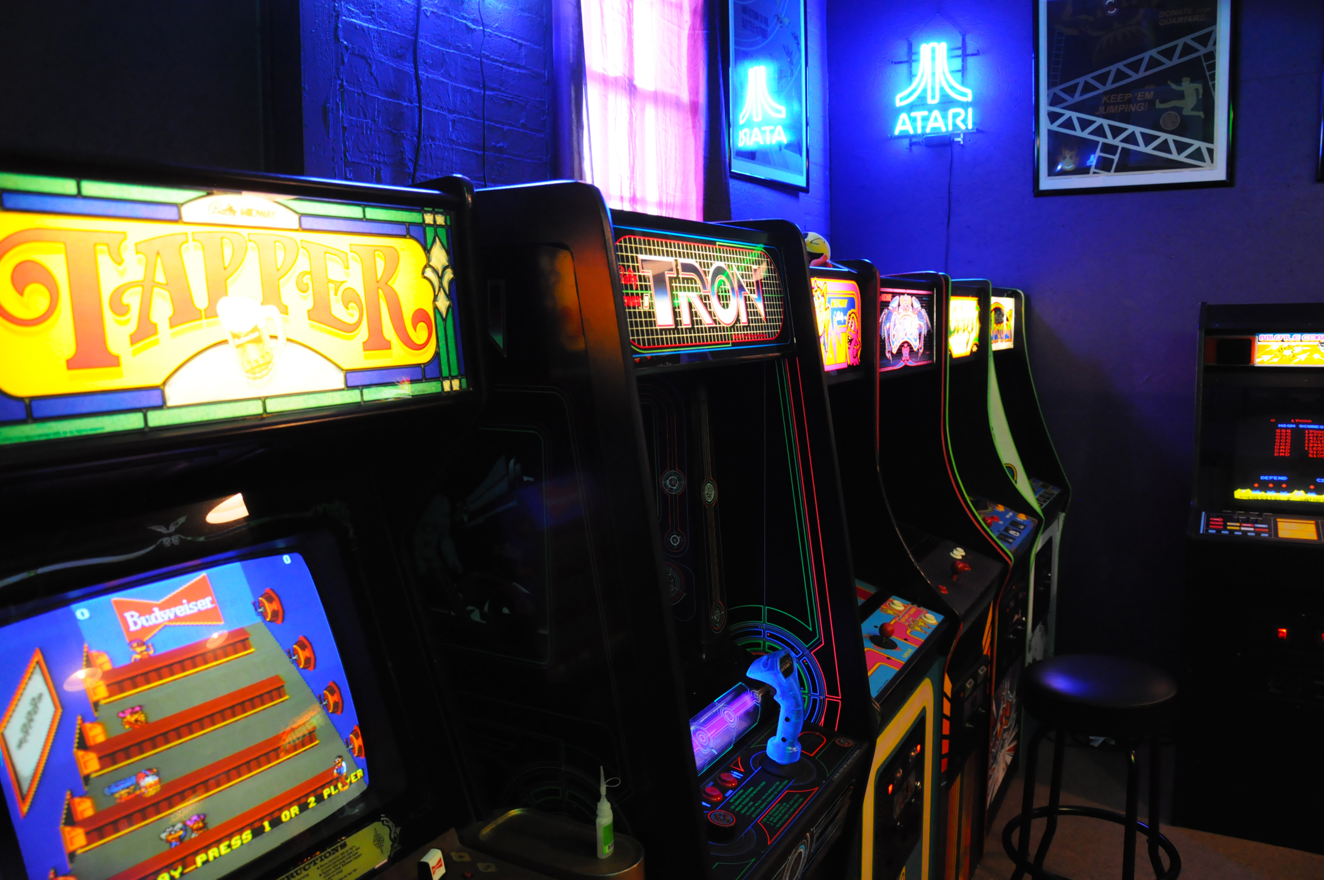 Showcase studio 313 arcade is a dystopian wonderland for Classic house 80s