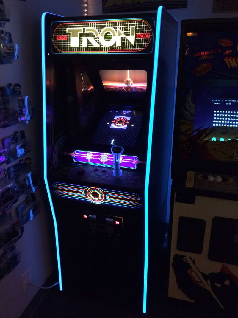 Holy Cats! LED T-Molding! - KLOV/VAPS Coin-op Videogame