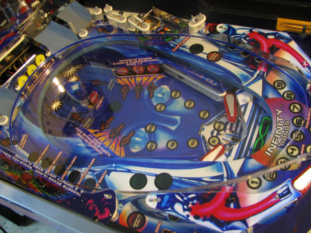 Custom Journey Pinball Playfield