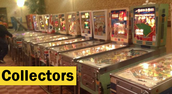 Pinball's Target Audience - Collectors