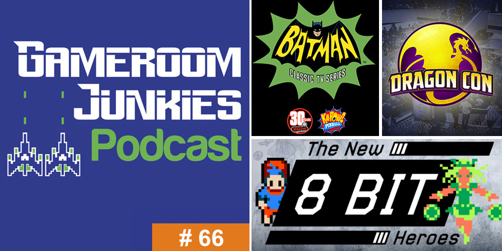Gameroom Junkies Podcast #66: 'The New 8-Bit Heroes' with Joe Granato