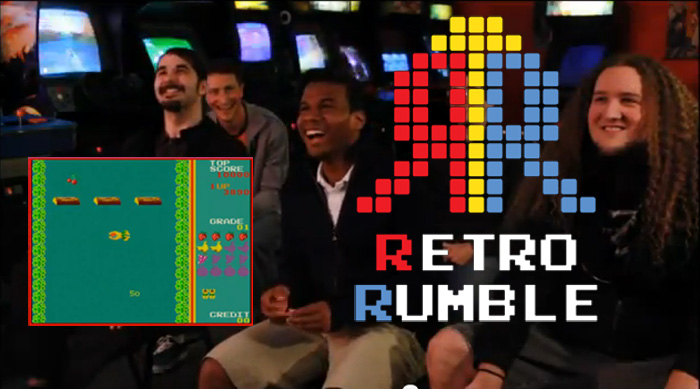 Arcade Classic Showdown on Retro Rumble Gameshow