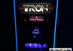 Illuminated T-molding on Tron