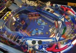 Custom Journey Pinball Playfield