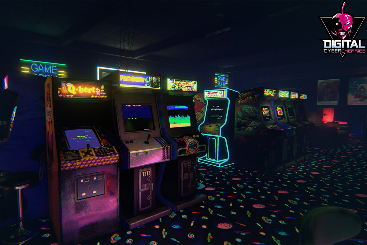 Newretroarcade Is A Perfect Game Room In Virtual Reality